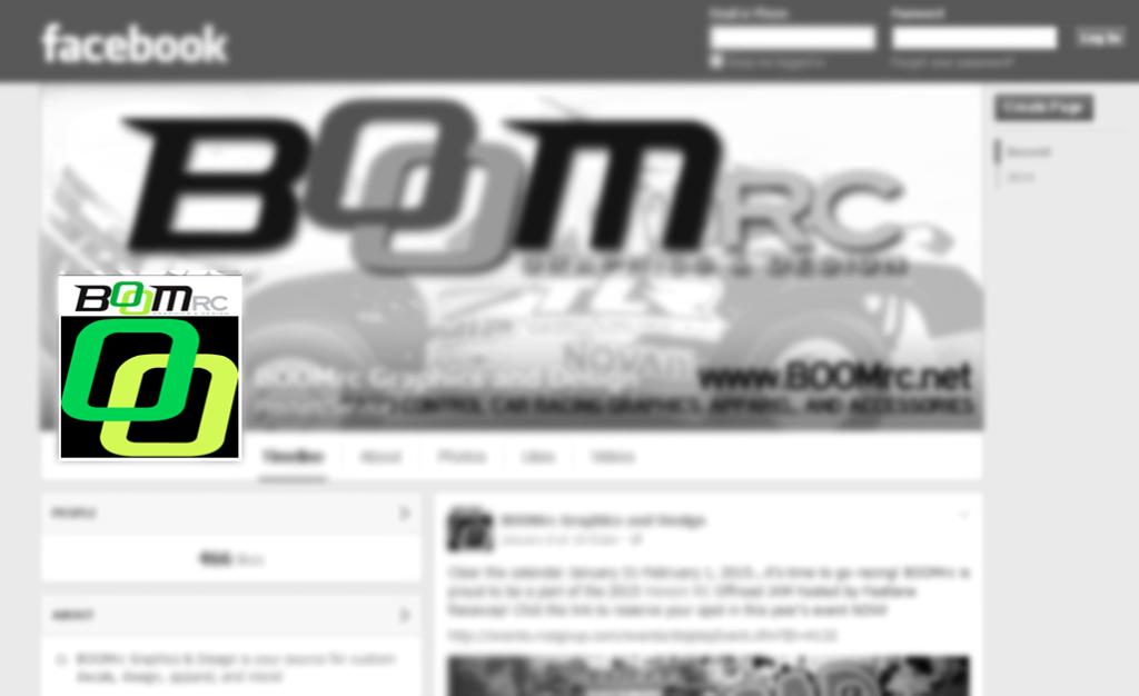 BOOMrc Facebook